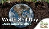 World Soil Day is December 5th